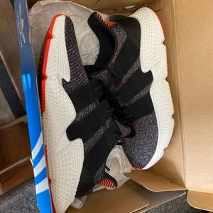 Adidas Prophere W size 10 Black Solar Red